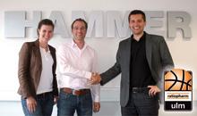 HAMMER SPORT neuer Sponsor des Basketball-Erstligisten ratiopharm Ulm