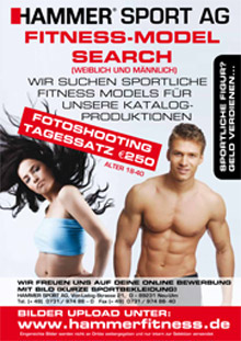 HAMMER sucht Fitness-Models!